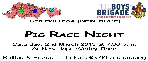 HBB Pig Race Night 2013