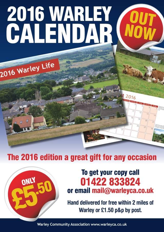 Warley Calendar 2015