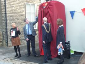 Eliana Bailey, Richard Macfarlane, Mayor & Mayoress of Calderdale